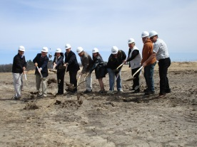 Groundbreaking for Greenwood Packaging